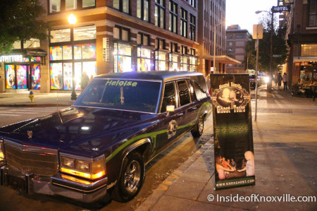 Haunted Knoxville Ghost Tours, Knoxville, November 2013