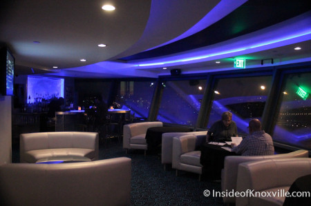 Icon Restaurant and Lounge, Sunsphere, Knoxville, November 2013