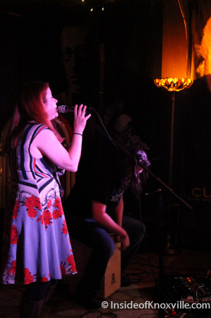 Jodie Manross, Preservation Pub, Knoxville, November 2013