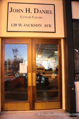 John H. Daniel, 120 Jackson Avenue, Knoxville, November 2013