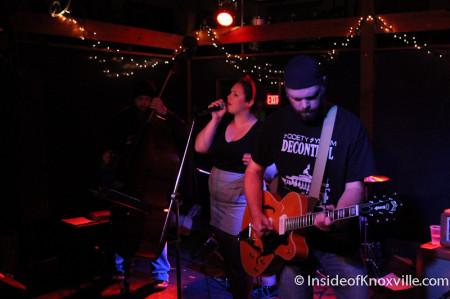Katy Free and the Marble City Three, Pilot Light, Knoxville, November 2013