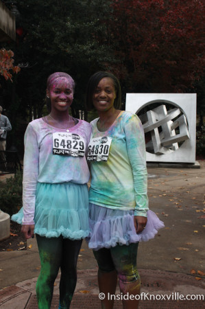 Run or Dye Race, Knoxville, November 2013