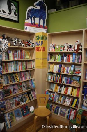 Children's Sanctuary, Union Avenue Books, 517 Union Avenue, Knoxville, November 2013