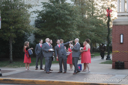 Wedding Party, Krutch Park, Knoxville, November 2013