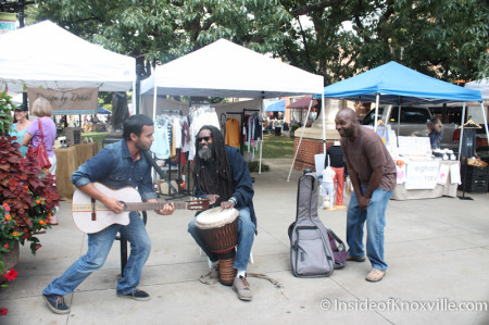 Awesome Buskers on Market Square, Knoxville, Autumn 2013