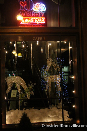 4 Market Square, Knoxville Christmas Decorations, 2013