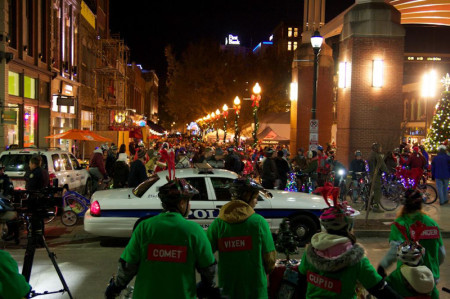 Tour de Lights 2013, Knoxville - Photograph courtesy of Dash Roberts