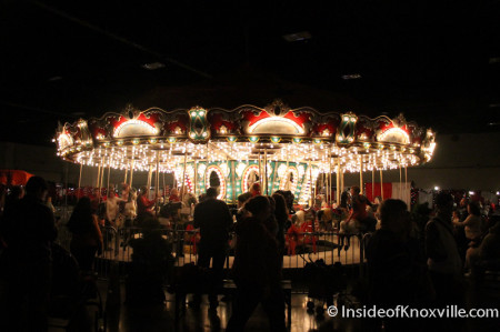 Carousel at the Fantasy of Trees, Knoxville Convention Center, November 2013