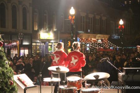 Cloggers at the Ho Ho Ho Down, Market Square, Knoxville, November 2013