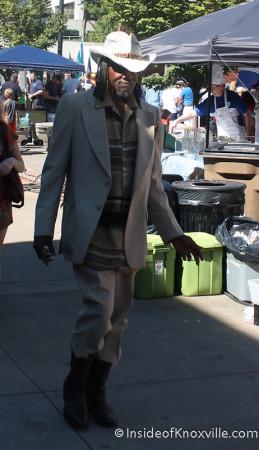 Man on the Street, Knoxville, Autumn 2013