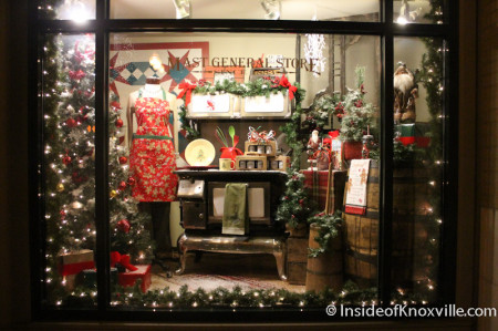 Holiday Window Fronts and Window Wonderland Winners Inside of