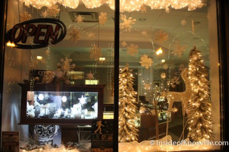 Rick Terry Jeweler, Knoxville Christmas Decorations, 2013