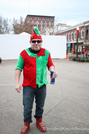 Billly Lawson, Market Square, Knoxville, December 2013