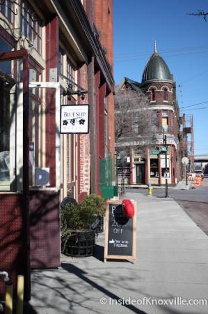 Blue Slip Winery, Jackson Avenue, Knoxville, January 2013