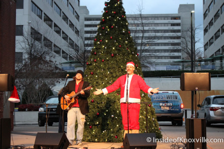 Brandon Harmon, Cullen Kehoe, Market Square, Knoxville, December 2013
