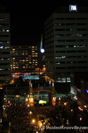 Downtown Knoxville New Year Celebration 2014