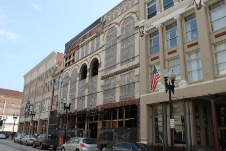 J.C. Penney Building Prior to Sidewalk Cover, Gay Street, Knoxville