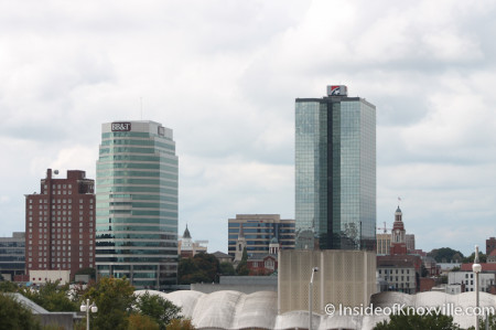 Knoxville Skyline, Autumn 2013