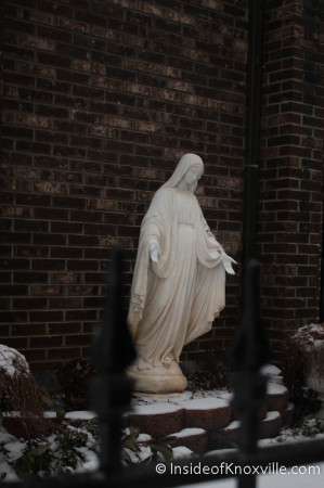 Immaculate Conception, Knoxville in the Snow, January 2014