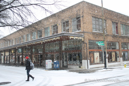 John Black Studio, Knoxville in the Snow, January 2014
