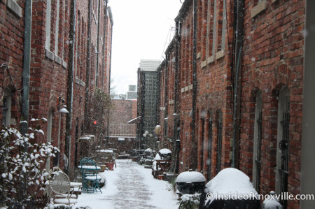 Kendrick Place, Knoxville in the Snow, January 2014