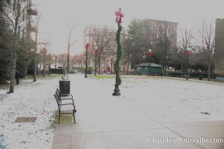 Krutch Park, Knoxville, December 2013