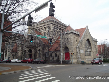 St. John's Episcopal Church, Walnut and Cumberland, Knoxville