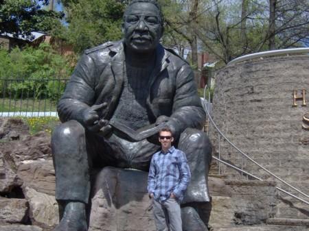 Adam Henig at Alex Haley Heritage Square