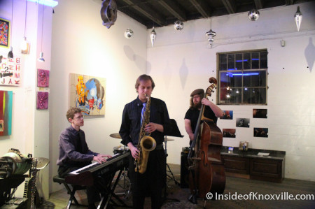 The Jazz at Art and Jazz for the Cure with Paulk and Company, 510 Williams Street, Knoxville, February 2014