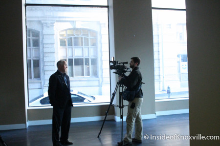 Bob Whetzel interviewed, Farragut Hotel, 530 S. Gay Street, Knoxville, February 2014