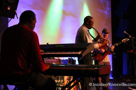 Donald Brown Band, Waynestock, Relix Theater, Knoxville, February 2014