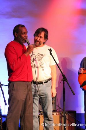 Donald Brown and Wayne Bledsoe, Waynestock, Relix Theater, Knoxville, February 2014