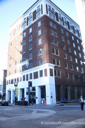 Farragut Hotel 530 S Street Knoxville February 2017