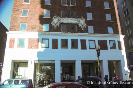 Farragut Hotel, 530 S. Gay Street, Knoxville, February 2014