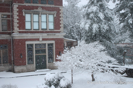 L & N, Knoxville in the Snow, February 13, 2014