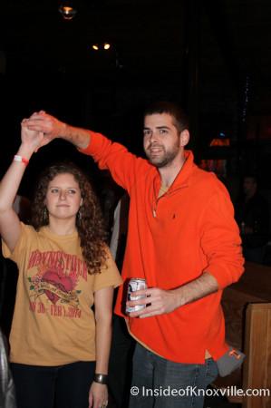 Lauren and Rusty Dancing, Waynestock, Relix Theater, Knoxville, February 2014