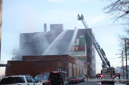 McClung Warehouse Fire, Knoxville, February 1, 2014