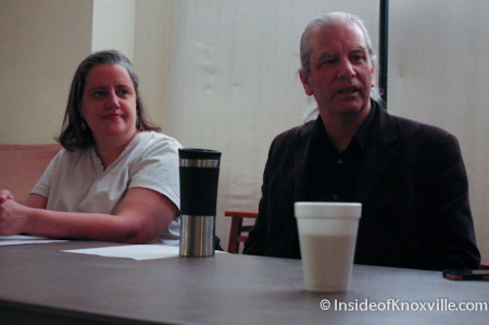Online Journalism Panel, Knoxville Writer's Guild, Laurel Theater, Knoxville, February 2014