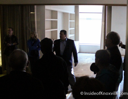 Tour of the  Farragut Hotel, 530 S. Gay Street, Knoxville, February 2014