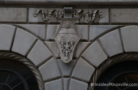 Building Detail, Market Street, Knoxville, March 2014