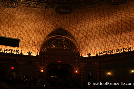 Interior of the Tennessee Theatre, Knoxville, March 2014