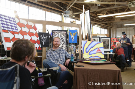 Ironwood Art Fair, Ironwood Studios, Knoxville, March 2014