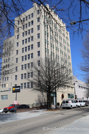 Medical Arts Building, Main Street, Knoxville, March 2014