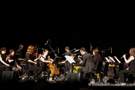 Music of Steve Reich, Big Ears Festival, Tennessee Theatre, Knoxville, March 2014