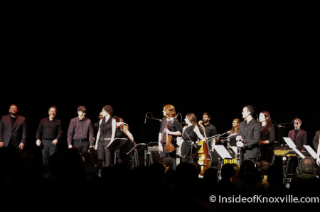 Steve Reich with Musicians, Music of Steve Reich, Big Ears Festival, Tennessee Theatre, Knoxville, March 2014