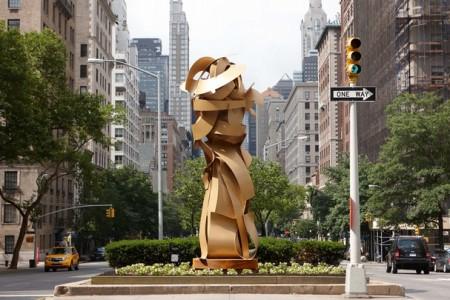 """Envious Composure"" by Albert Paley, Park Avenue, New York City"