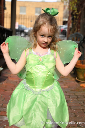 Urban Girl as Tinkerbell, Dressed for Disney Jr, Knoxville, Marc