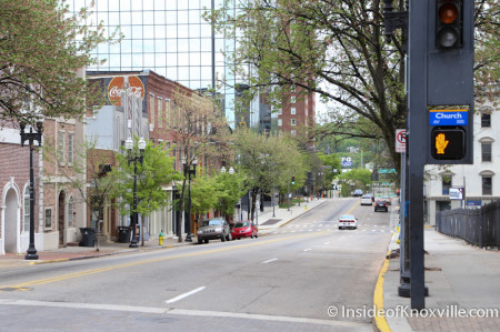 700 Block of Gay Street, Streetscape Plan, Knoxville, April 2014