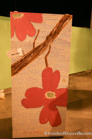 Sharpie Art Door Slam, First Friday, Knoxville, April 2014