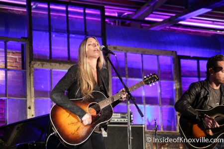 Holly Williams, Rhythm and Blooms Festival, Knoxville, April 2014